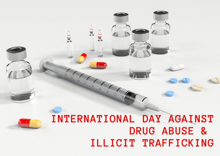 International Day Against Drug Abuse & Illicit Trafficking|26th June 2020|