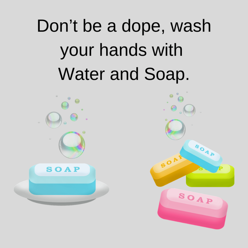 Water and Soap quotes