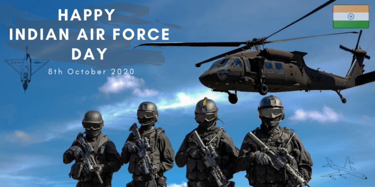 Essay on Indian Air Force Day 2020|8th October| History, Themes, Quotes|
