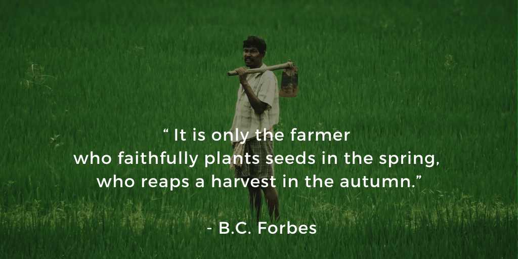 Farmers Day Quotes